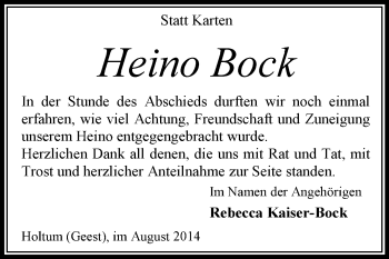 Zur Gedenkseite von Heino