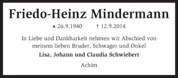 Zur Gedenkseite von Friedo-Heinz