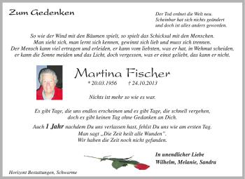 Zur Gedenkseite von Martina