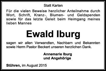 Zur Gedenkseite von Ewald