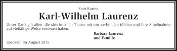 Zur Gedenkseite von Karl-Wilhelm