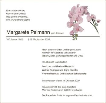 Margarete Peimann