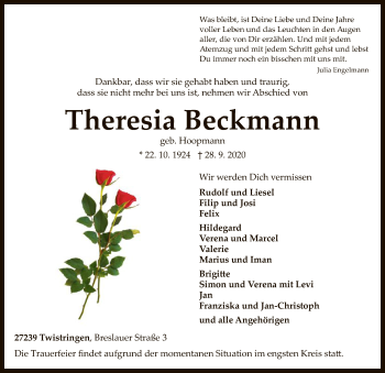 Theresia Beckmann
