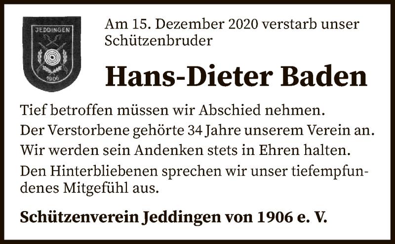 Traueranzeigen Baden Baden