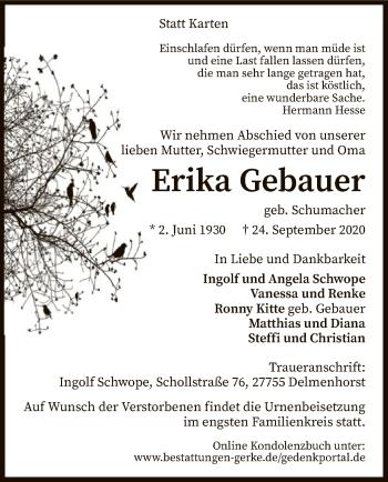 Erika Gebauer