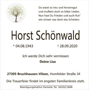 Horst Schönwald