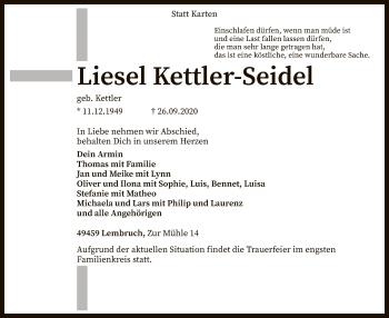 Liesel Kettler-Seidel