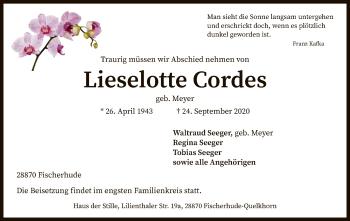 Lieselotte Cordes