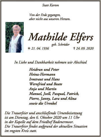 Mathilde Elfers