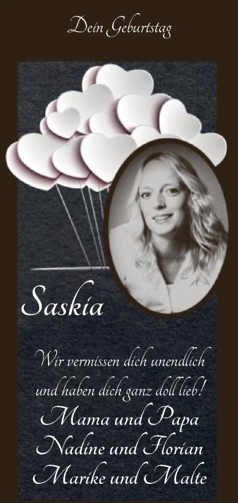 Traueranzeige für Saskia Coors vom 19.09.2020 aus SYK