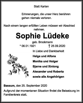 Sophie Lüdeke