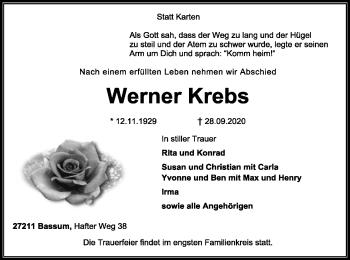 Werner Krebs